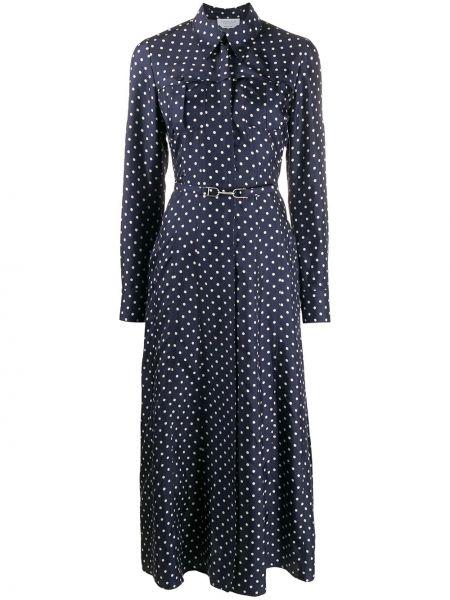 Платье в горошек на пуговицах Gabriela Hearst