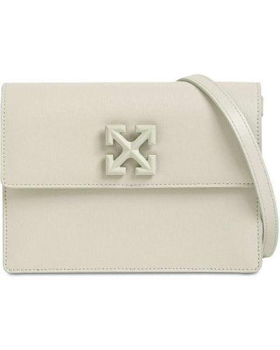 Кожаная сумка Off-white