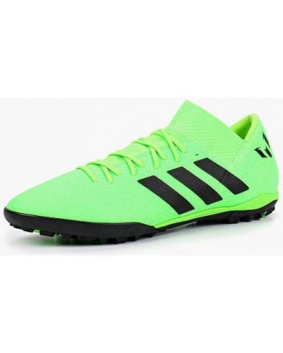 Зеленые бутсы Adidas