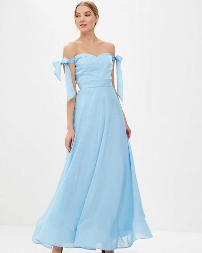 Голубое платье Chi Chi London