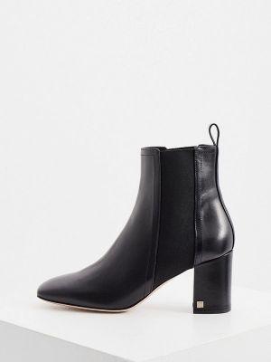 Черные ботинки с квадратным носком Ballin