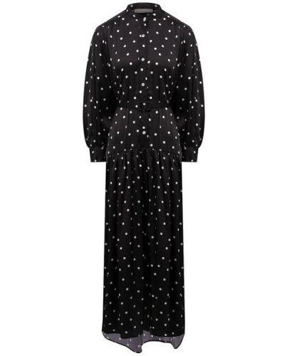 Платье из полиэстера - черное Tak.ori