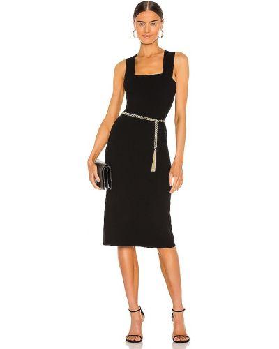 Кашемировое черное платье-свитер для полных 525