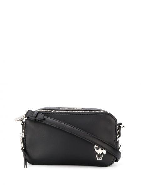 Черная маленькая сумка Karl Lagerfeld