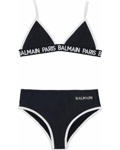 Czarny bikini Balmain