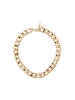 Золотистая желтая цепочка позолоченная Coup De Coeur
