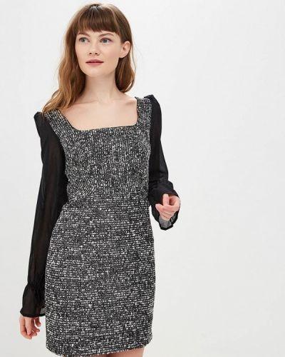 Платье весеннее черное Gepur