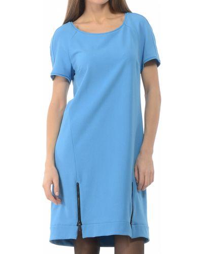 Платье из вискозы - голубое Iblues