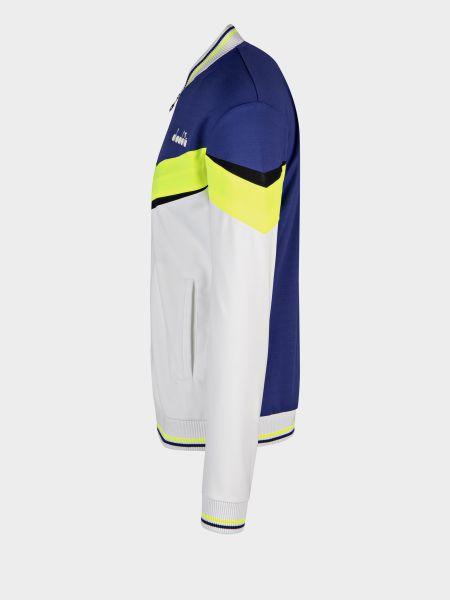 Куртка на молнии - белая Diadora