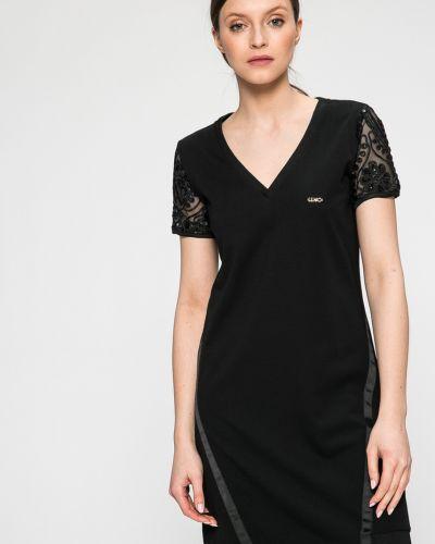 Платье мини с V-образным вырезом прямое Liu Jo