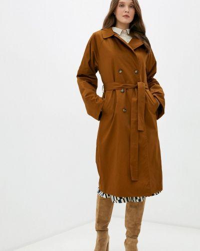 Коричневое пальто Ichi