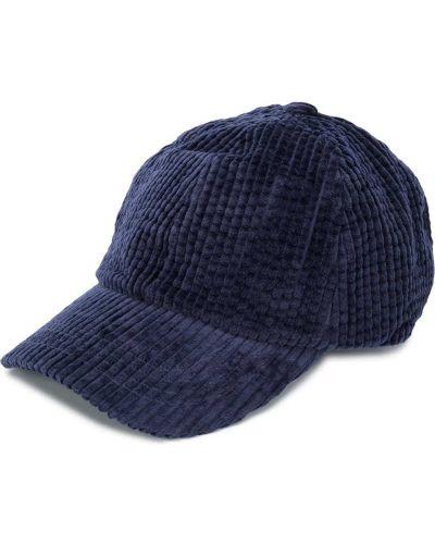 Niebieska czapka bawełniana klamry Acne Studios