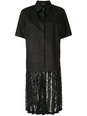 Рубашка с коротким рукавом - черная Goen.j