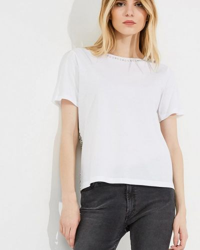 Белая футболка Twin-set Simona Barbieri