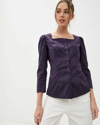 Блузка - фиолетовая энсо