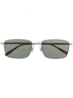 Zielone okulary srebrne Dunhill