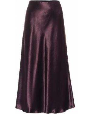 Юбка миди фиолетовый пачка Max Mara