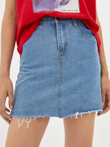 Синяя джинсовая юбка Shelter