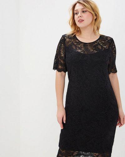 Платье миди - черное Balsako