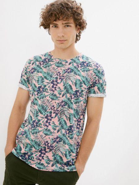 Розовая футболка с короткими рукавами Qwentiny