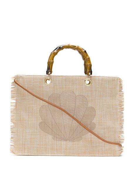 Золотистая сумка-тоут с подкладкой Isla