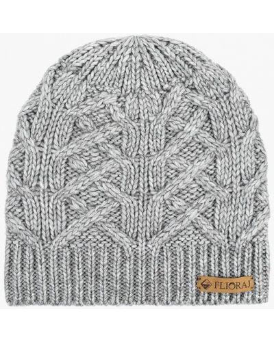 Серая шапка осенняя Flioraj