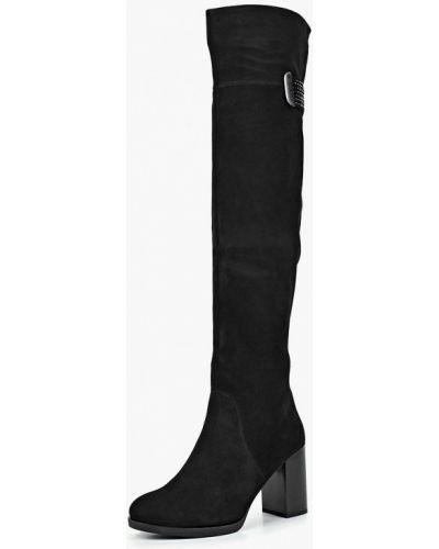Ботфорты на каблуке черные Provocante