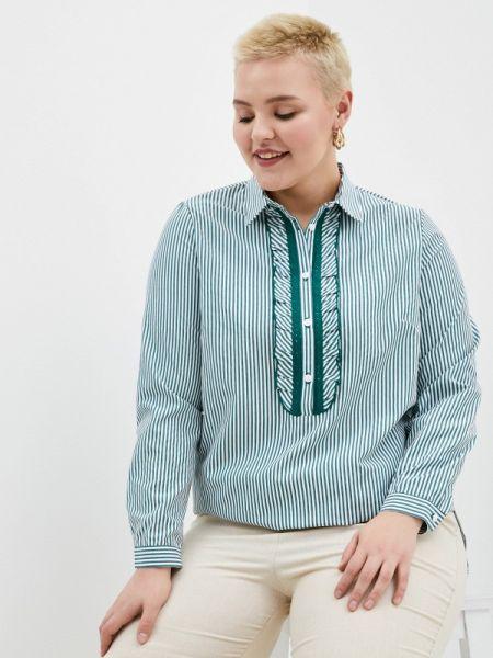 Зеленая блузка с длинным рукавом Balsako