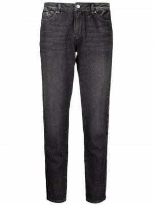 Прямые джинсы классические - черные Karl Lagerfeld