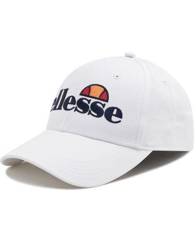 Biała czapka z daszkiem Ellesse
