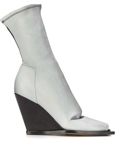 Носки квадратный на платформе Rick Owens