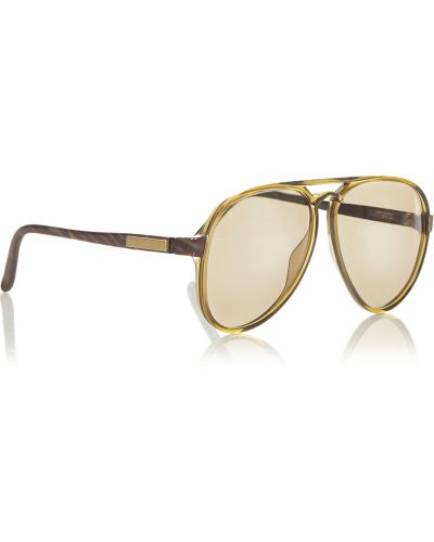 Brązowe okulary Dior Vintage