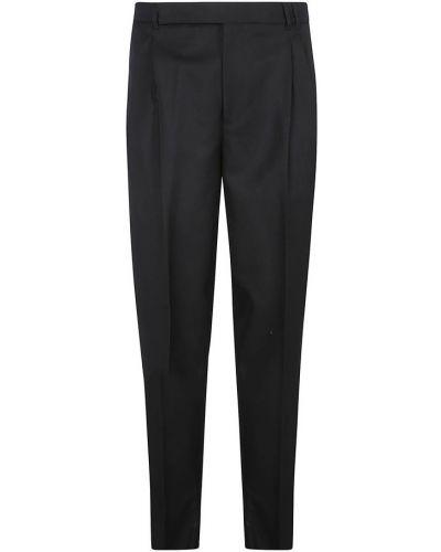 Czarne spodnie Ermenegildo Zegna