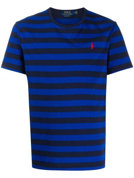 Koszula krótkie z krótkim rękawem prosto niebieski Ralph Lauren