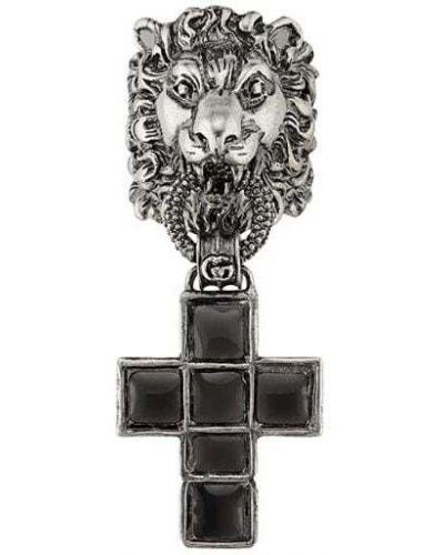 Серьги серебряный Gucci