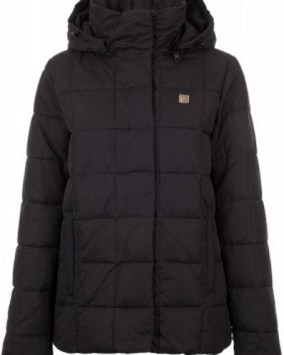 Утепленная куртка осенняя с капюшоном Fila