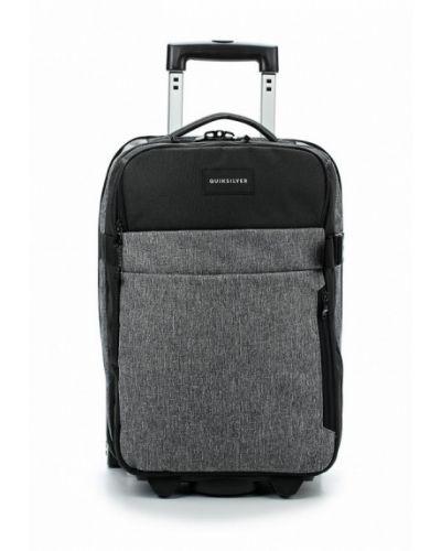 Серый чемодан Quiksilver