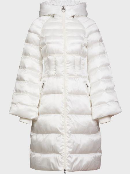 Куртка на молнии - белая Pinko