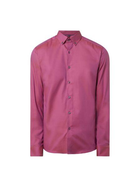 Bawełna bawełna z rękawami koszula oxford z mankietami Eterna