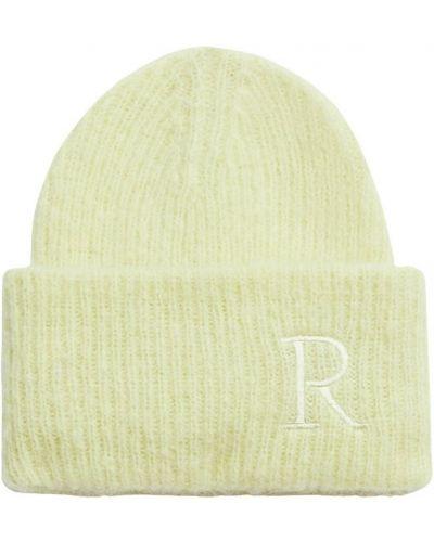 Żółta czapka Rodebjer