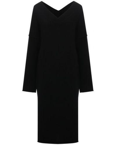 Шерстяное платье - черное Isabel Benenato