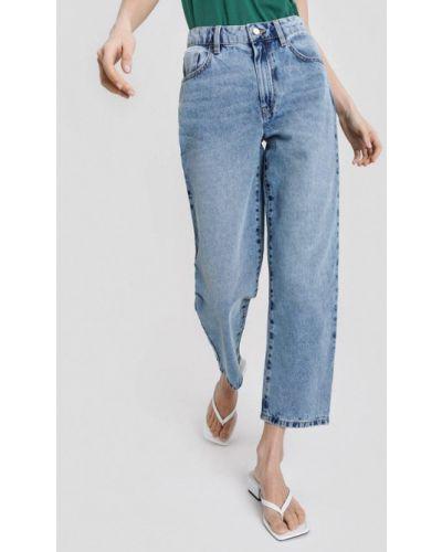 Широкие джинсы - голубые O'stin