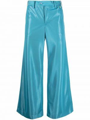 Niebieskie spodnie z paskiem Doublet