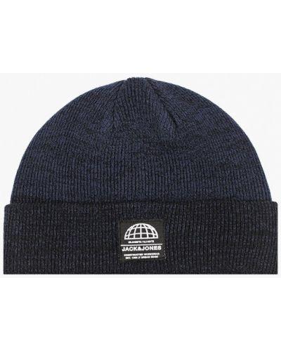Синяя шапка Jack & Jones