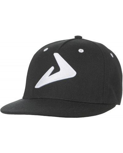 Черная бейсболка с вышивкой Demix