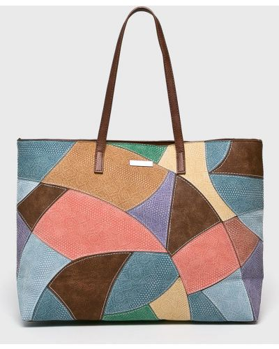 Кожаный сумка с ручками через плечо Desigual