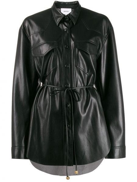 Черный пиджак Nanushka