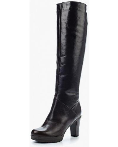 Ботфорты на каблуке кожаные Provocante