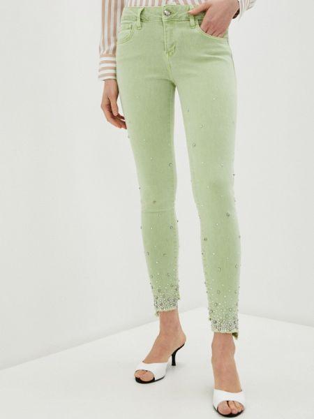Зеленые джинсы D'she