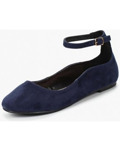 Замшевые туфли с застежкой на лодыжке осенние Lost Ink.